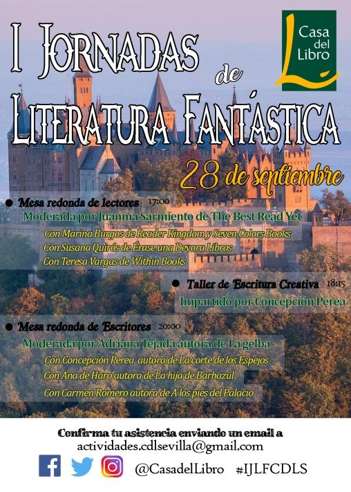 I Jornadas de Literatura Fantástica en Casa del Libro