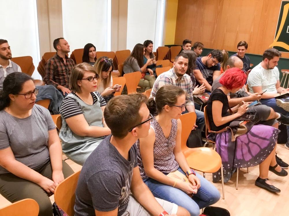 I Jornadas de Fantasía Literaria en Casa de Libro Sevilla organizadas por Adriana Tejada. Escritora