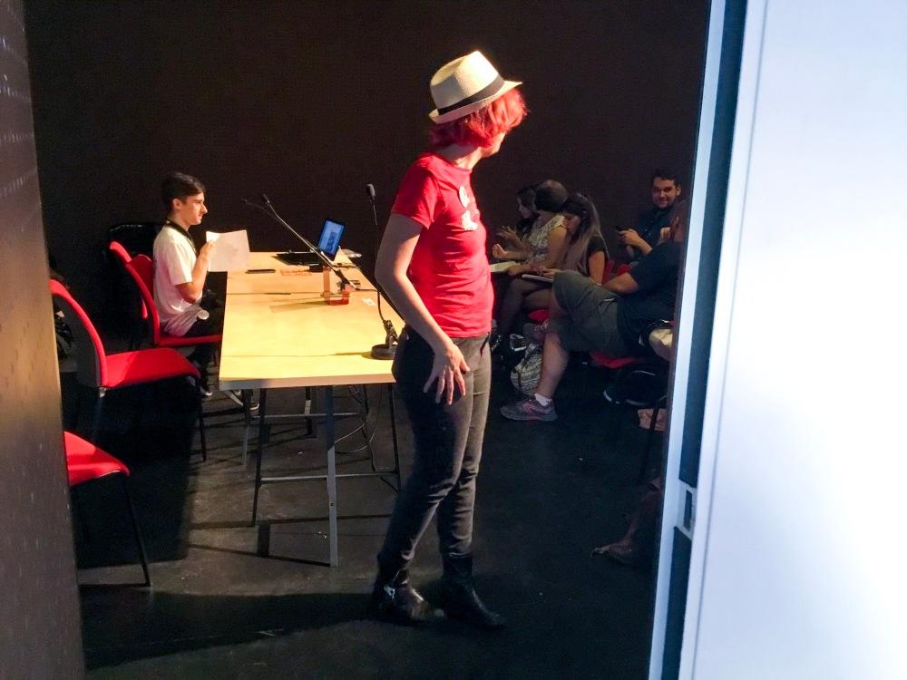 Concha Perea en la Andalucia Reader Con_Adriana Tejada Escritora