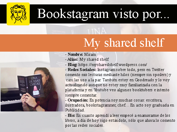 My shared shelf en Adriana Tejada. Escritora