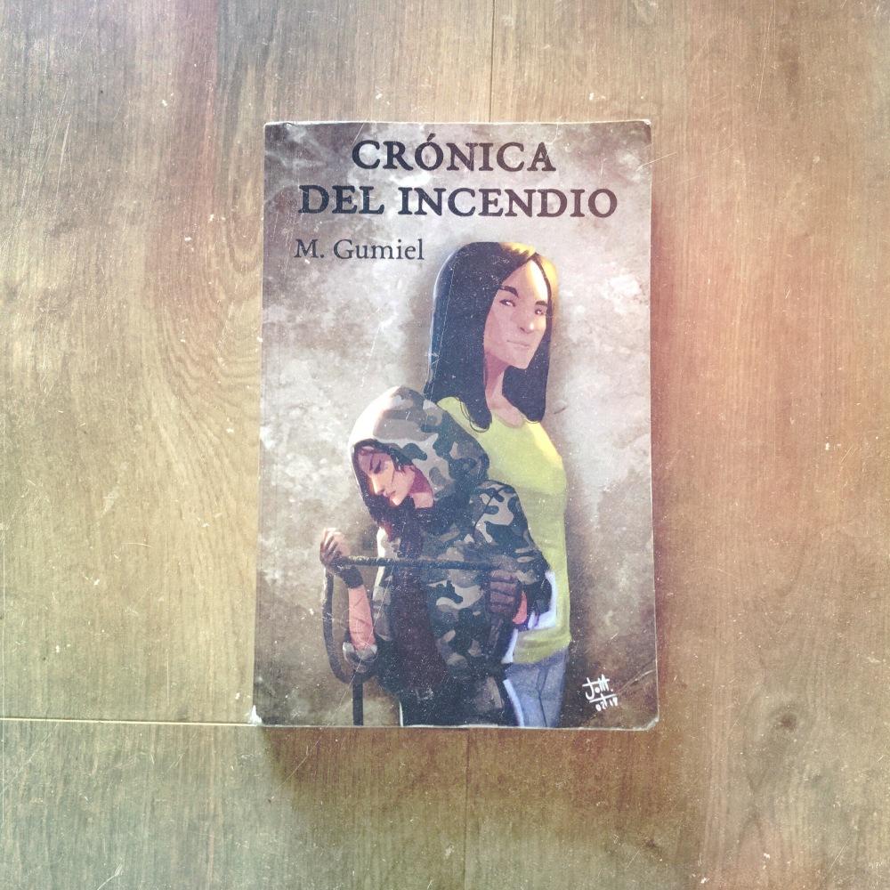 Crónica del incendio en Adriana Tejada. Escritora
